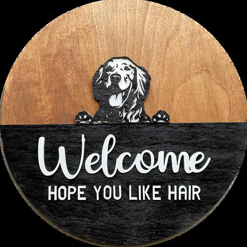 Welcome, Hope You Like… Door Hanger