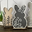 Thumbnail: Decorative Easter Bunnies   Set of 4 or 8