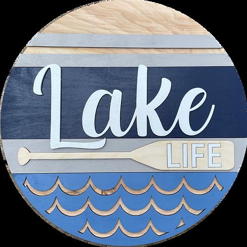 Lake Life Door Hanger