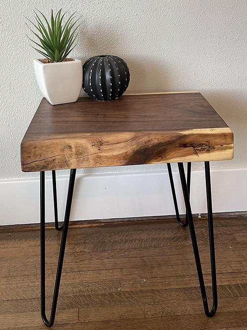Black Walnut side table