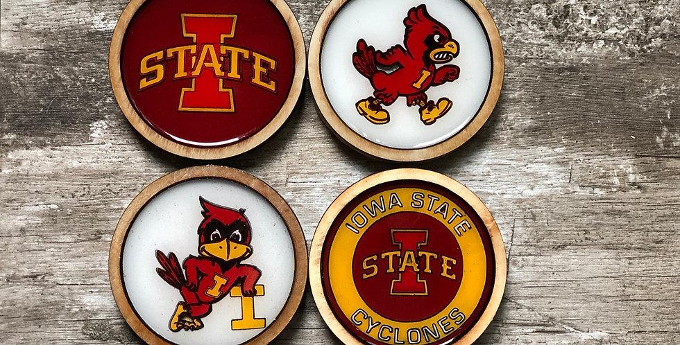Iowa State Coasters (Set of 4 or 6)