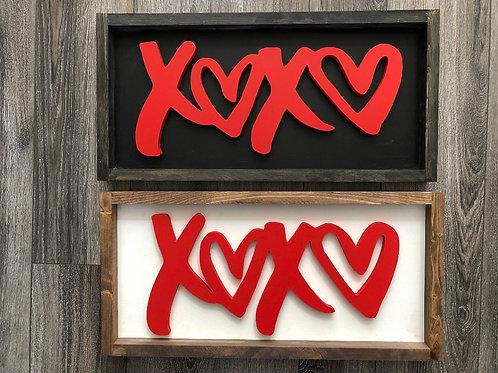 XOXO | Valentines Day Decor