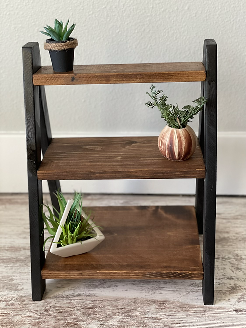 Tiered Tray | Modern Mini Shelf