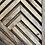 Thumbnail: Large Geometric mountain range Art - Set of 2