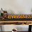 Thumbnail: Wooden Leaning Cy Decor
