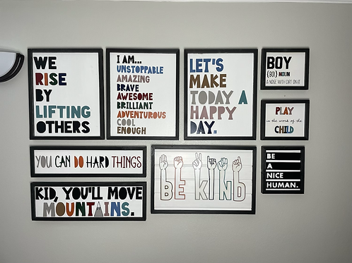 Inspirational Wall Art - Entire Gallery