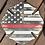 Thumbnail: Red Line Firefighter Door Hanger