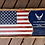 Thumbnail: Air Force Flag | Personalized Wooden Air Force Flag