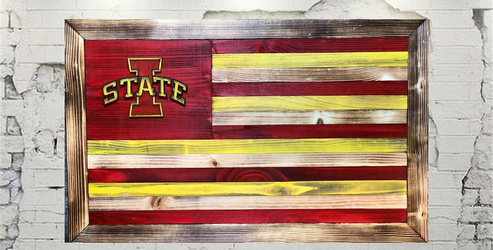 Iowa State Cyclones Flag
