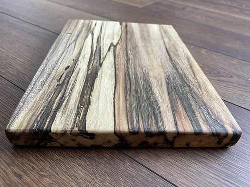 Spalted Hackberry live edge cutting board | Serving Tray | Personalize yours