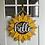 Thumbnail: Sunflower Hello Door Hanger