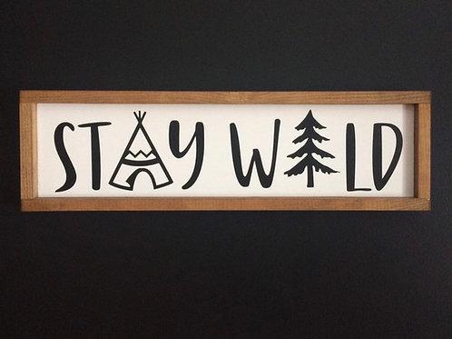 Stay Wild Nursery Decor