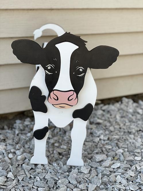 Cow Flower Planter