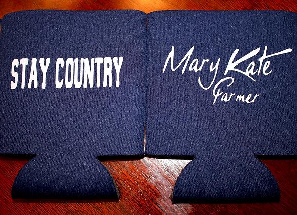 "MKF ""Stay Country"" Koozie"