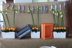 Décoration buffet Maison sur l'Eau