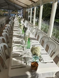 Table banquet à la Boîte à Sel