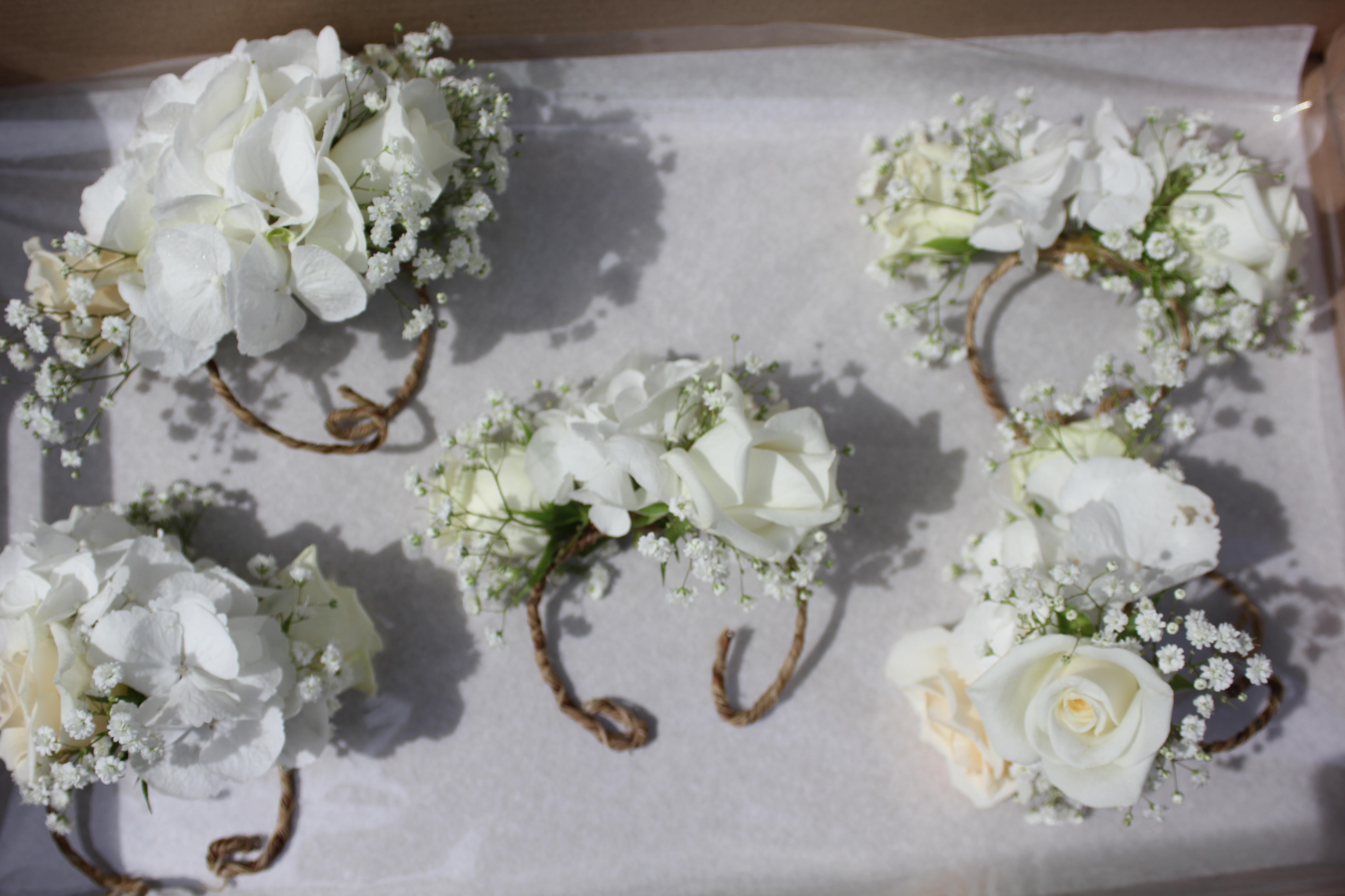 Bracelets pour les demoiselles d'honneur
