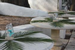Décoration de l'extérieur au Punta Lara