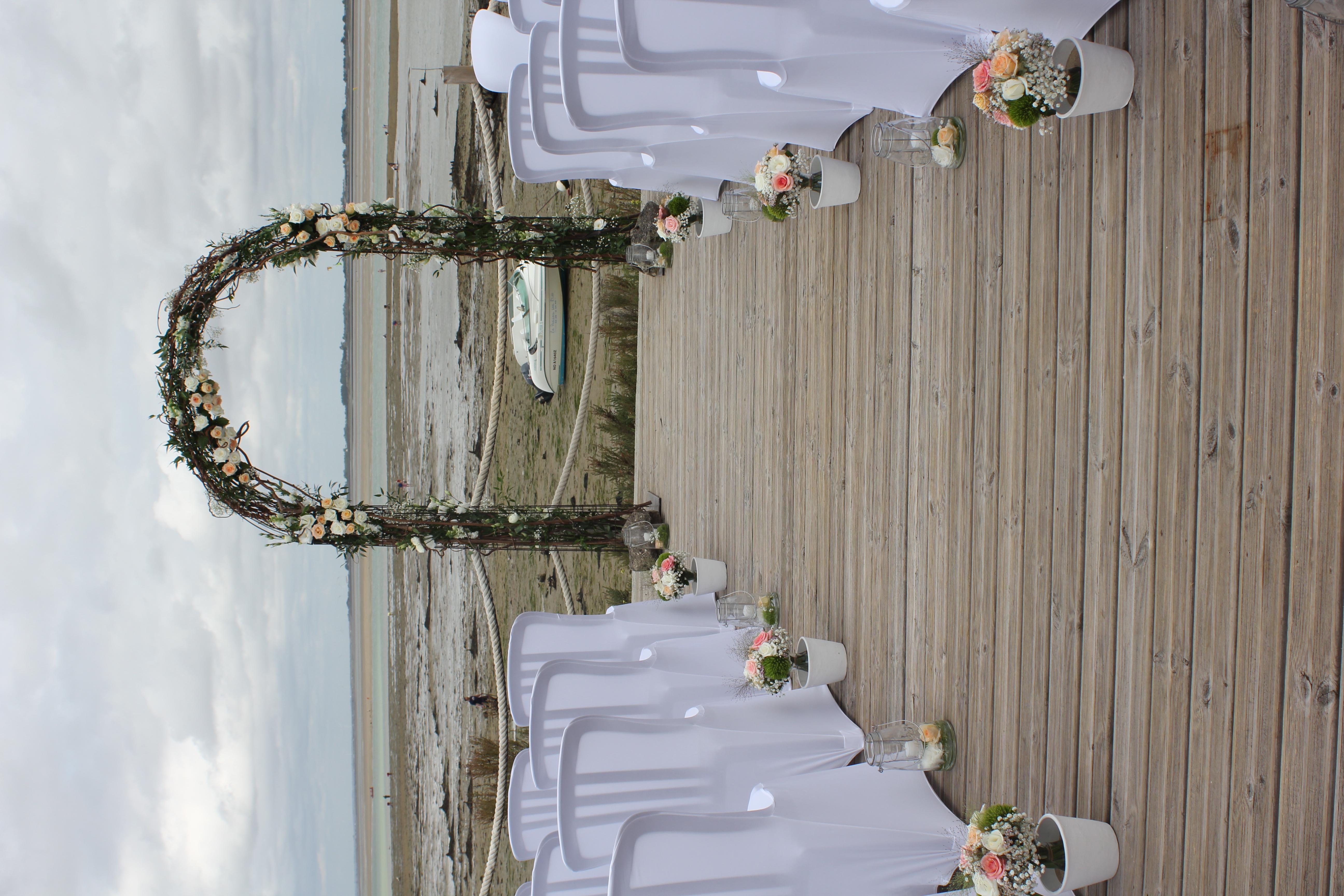 Arche cérémonie laïque à la Maison sur l'eau
