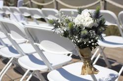 Bouts de chaises cérémonie laïque