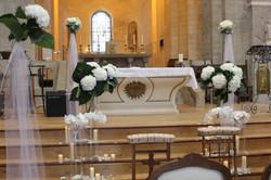 Décoration de l'autel