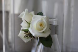 Bracelet de roses blanches