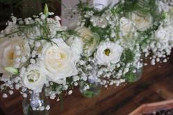 Bouquets de fleurs pour les demoiselles d'honneur