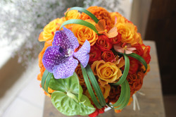 Bouquet de mariée exotique _jungle_