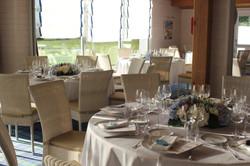 Centre de table mariage à l'hôtel Fleur de Sel