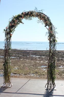 Arche cérémonie laïque au Punta Lara