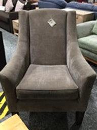 Armchair Warm Grey Fabric