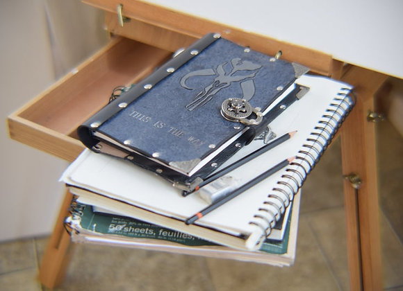 Custom Engraved Leather Journal/Sketchbook
