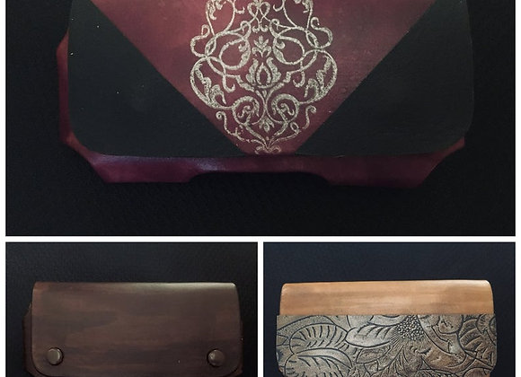 Custom Leather Phone Holster