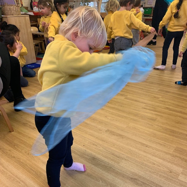 Friday afternoon ballet with Monzani School of Dance, appeals to even our youngest children.