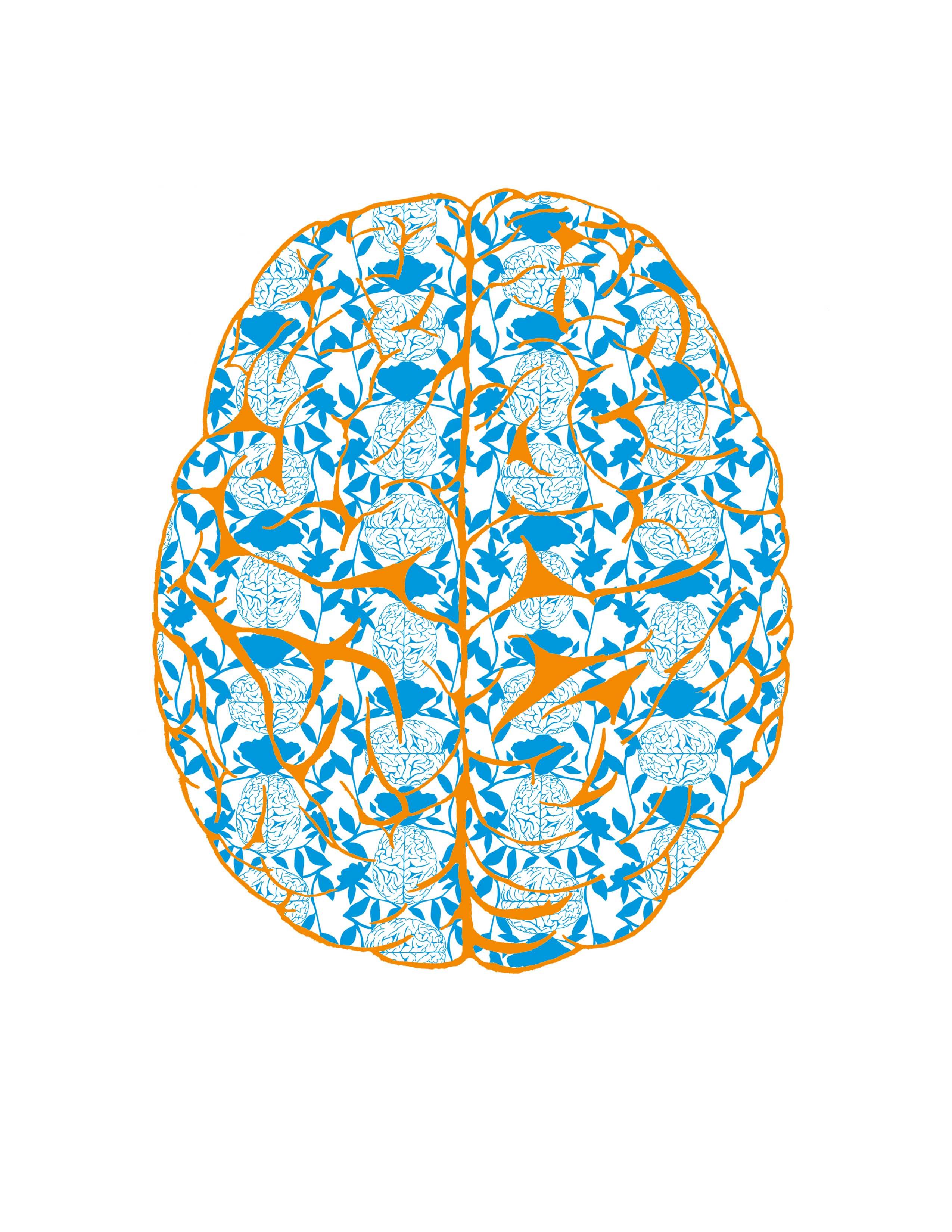 Brain Damask