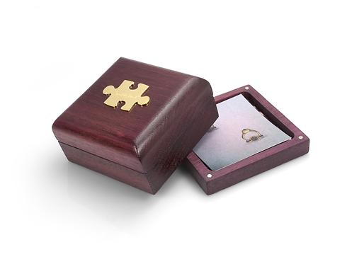 Purpleheart Ring Box