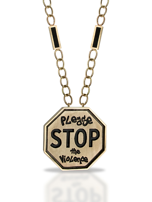 Tyler's STOP the Violence Pendant