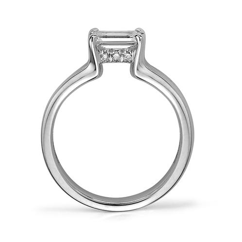 Kara's Emerald Cut Diamond Engagement Ring