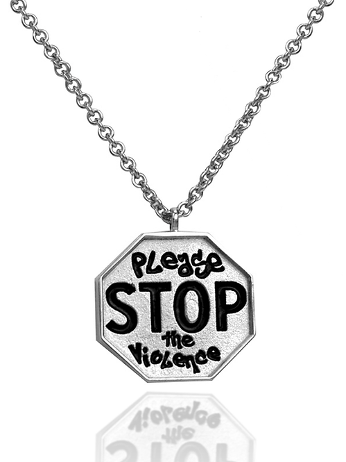 STOP the Violence Pendant Mini