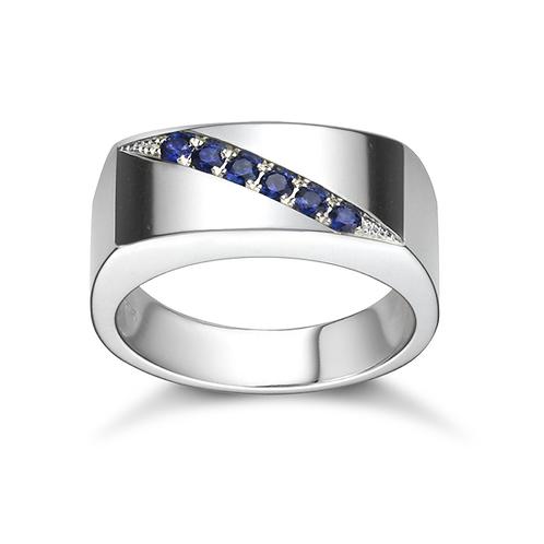 Richard's Sapphire Signet Ring