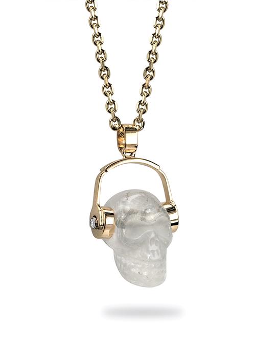 Jesse's Skull & 'Phones Pendant