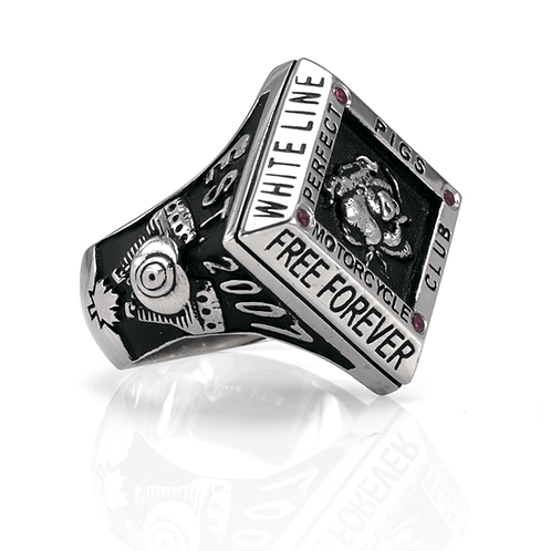Motorcycle Club Ring