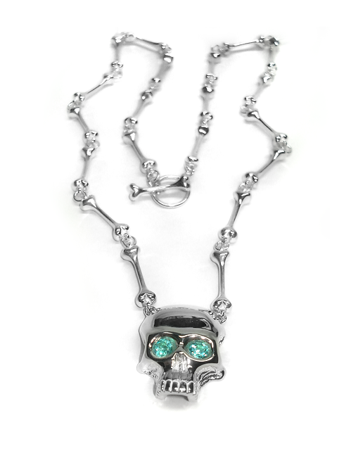 Skull & Bones Pendant & Necklace