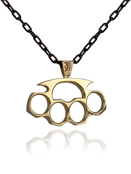 Daniel's Brass Knuckles Pendant
