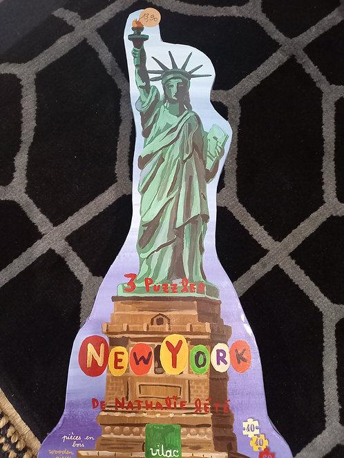 VILAC - 3 puzzles New York