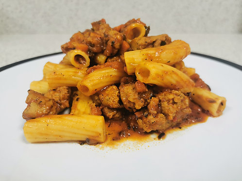 Sausage Rigatoni for 4