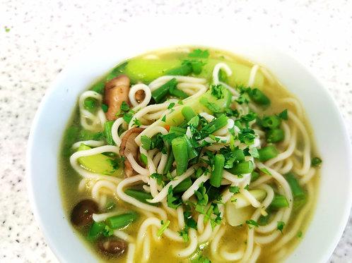 Vegan noodle soup