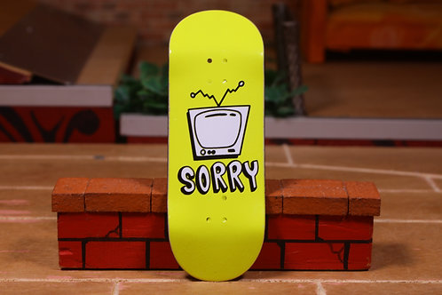 """Sorry """"TV Yellow"""" Pops SF2 34mm"""