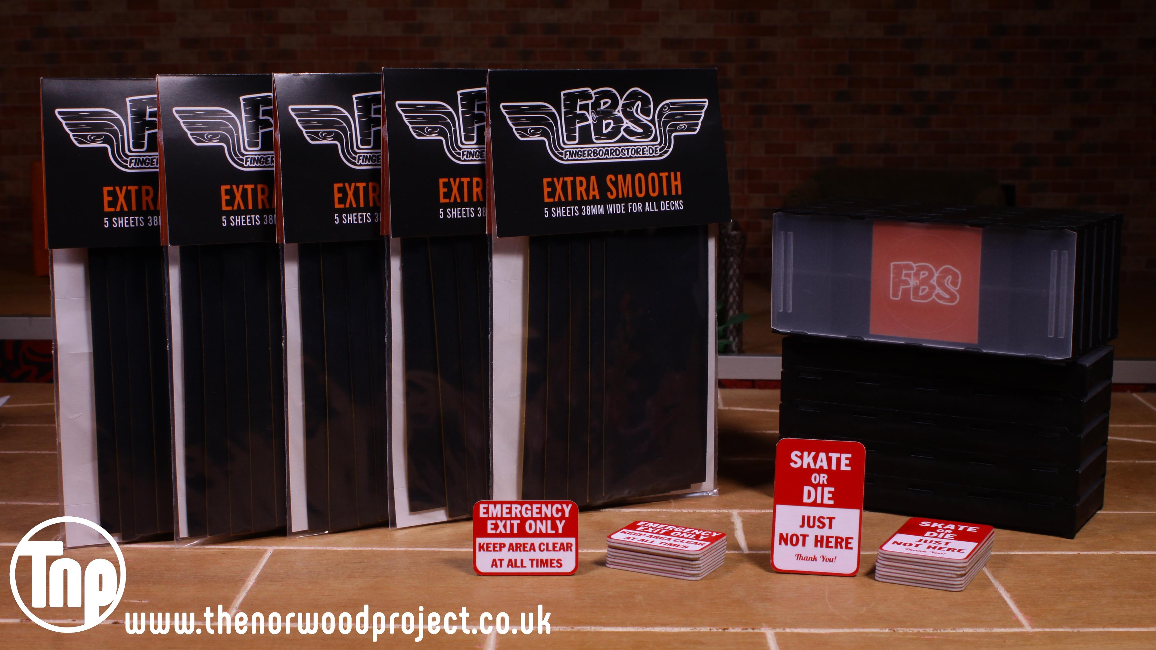 FBS Tape, FBS Bits Boxes, FBS Fingerpark