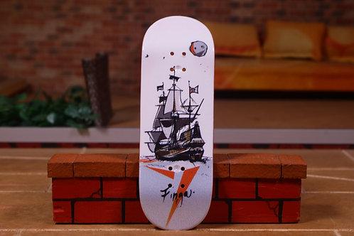 """Finga """"Pirate Ship"""" White 33mm"""